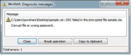 Rar Crc Failed Mac