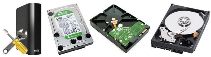 Hard disks repair