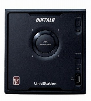 Buffalo LinkStation Quad Shared Network Storage LSQ20TLR5 2Tb RAID