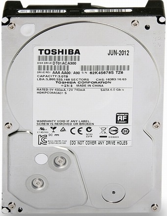 Data Recovery For Toshiba 3.5-inch SATA DT01ACA150 1.5Tb