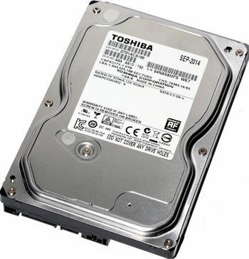 Data Recovery For Toshiba 3.5-inch SATA DT01ACA032 320G Hard Drive