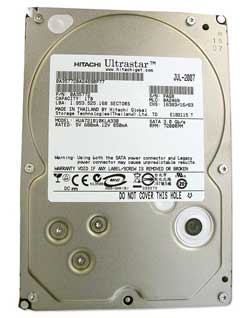 Data Recovery For Hitachi Deskstar 7K1000 SATA HDS721010CLA332 1Tb