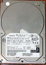 Data Recovery For Hitachi Deskstar 25GP DJNA-352030 20G Hard Drive