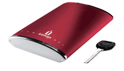 Data Recovery: External Iomega EGo Ruby Red USB2.0 250Gb