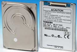 Toshiba 120GB drives