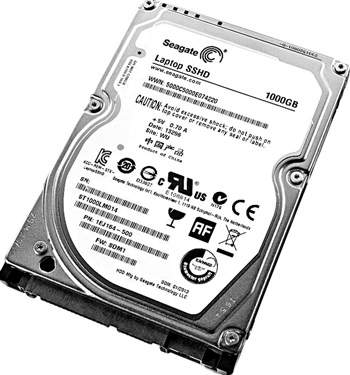 Data Recovery For Seagate Laptop SSHD SATA ST1000LM014 1000G