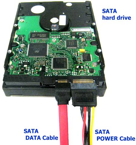Power And Data Cable For 3 5 Inch Desktop Hard Disk Drive