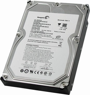 Data Recovery For Seagate Barracuda 7200.11 SATA ST3640530AS 640Gb