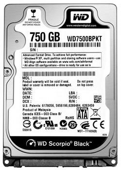 Data Recovery For Western Digital WD7500BPKX 750G