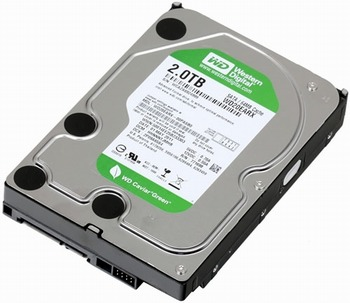 WD20EARS - WD Caviar Green, 2000 Gb Hard Disk Recovery
