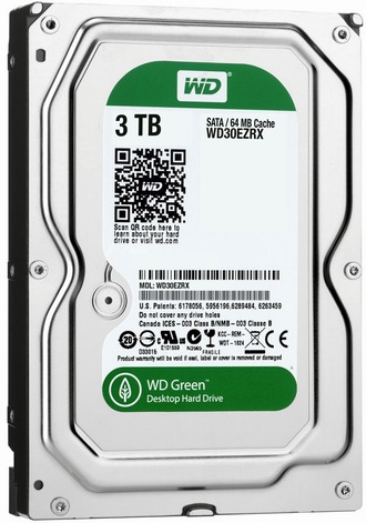 WESTERN DIGITAL 3000GB drives