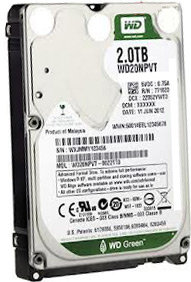 WESTERN DIGITAL 2000GB drives