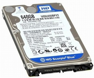 Data Recovery For Western Digital WD1600BPVT 160G