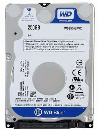 Data Recovery For Western Digital WD2500LPVX 250G